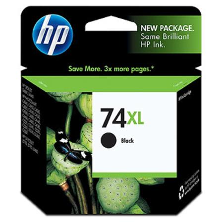HP 74XL Black Original Ink Cartridge with Vivera Ink (CB336WN)