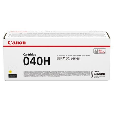 Canon 040HY Yellow Original High Capacity Toner Cartridge (0455C001AA)