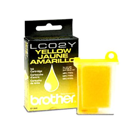 Brother LC02Y Yellow Original Print Cartridge