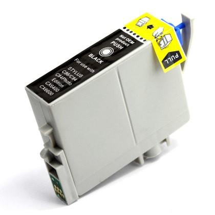 Epson T0431 (T043120) Black Remanufactured High Capacity Ink Cartridge
