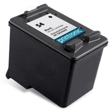 HP 54 Black Remanufactured High Capacity Ink Cartridge (CB334AN)
