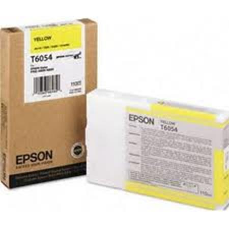 Epson T6054 (T605400) Original Yellow Ink Cartridge