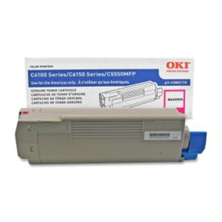 OKI 43865718 Magenta Original Toner Cartridge