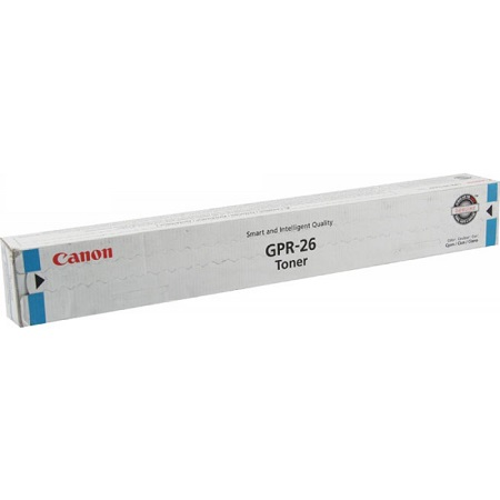 Canon GPR-26 Original Cyan Toner Cartridge (2448B003AA)