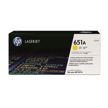 HP 651A Yellow Original Toner Cartridge (CE342A)