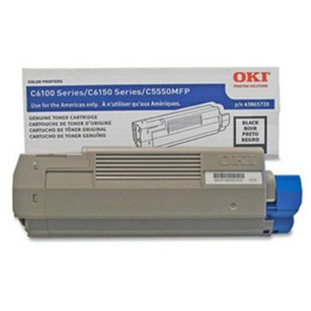 OKI 43865720 Black Original Toner Cartridge