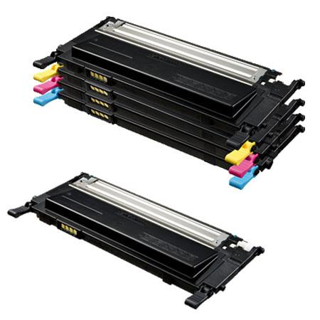 Clickinks 409S Full Set + 1 EXTRA Black Remanufactured Toner Cartridge