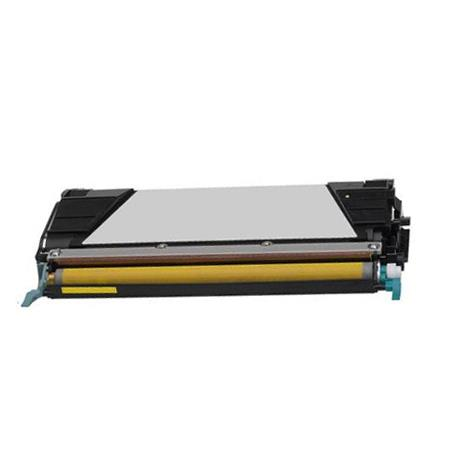 Compatible Yellow Lexmark X746H1YG High Yield Toner Cartridge