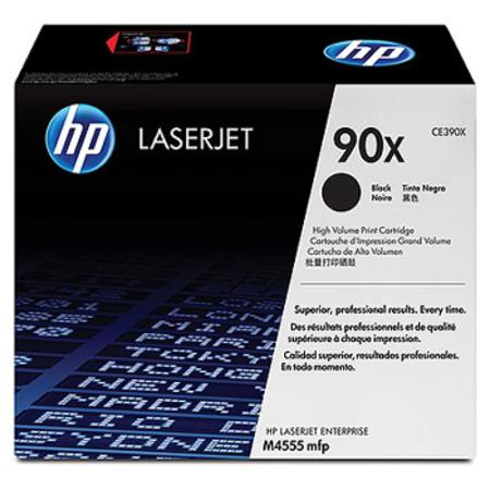 HP 90X (CE390X) Black Original High Capacity Toner Cartridge
