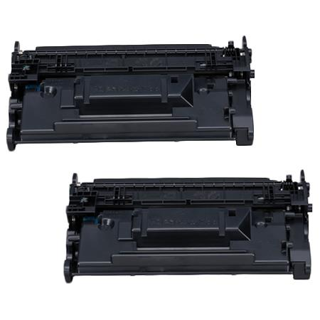 Clickinks 121 (3252C001) Black Remanufactured Toners - Twin Pack
