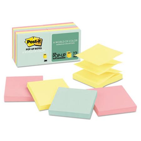 Post-it Pop-up Pastel Colors Note