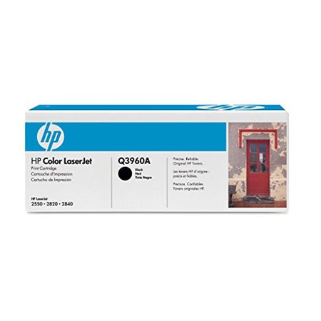 HP Color LaserJet Q3960A Black Original Print Cartridge with Smart Printing Technology