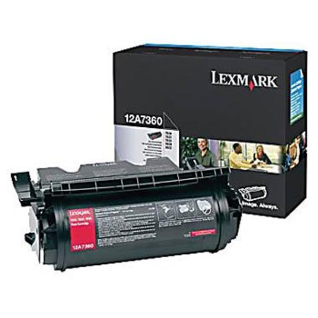Lexmark 12A7360 Original Black Toner Cartridge