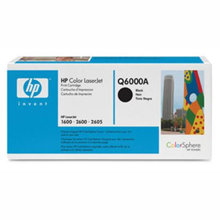 HP Color LaserJet Q6000A Black Original Print Cartridge with Smart Printing Technology