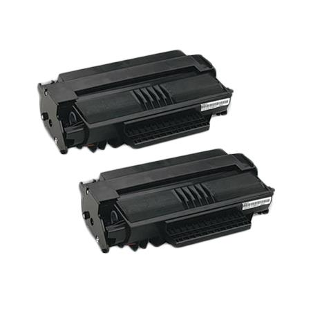 56120401 Black Remanufactured Toner Cartridge Twin Pack