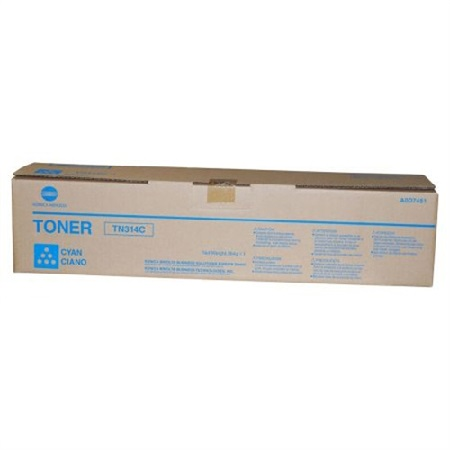 Konica Minolta TN314 Cyan Original Toner Cartridge