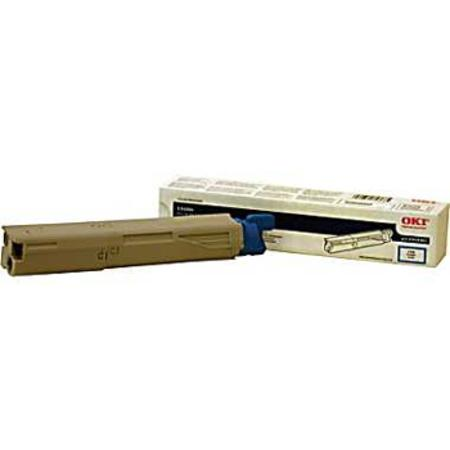 OKI 43459303 Cyan Original Toner Cartridge
