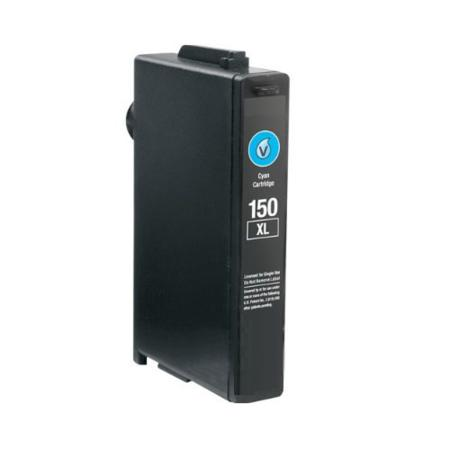 Compatible Cyan Lexmark No.150XL High Yield Ink Cartridge (Replaces Lexmark 14N1615)