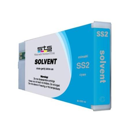 Mimaki SS2 Compatible Eco-Solvent Light Cyan Inkjet Cartridge