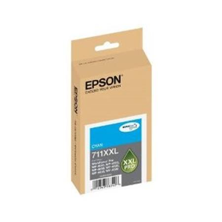 Epson T711XXL (T711XXL220) Cyan Original DURABrite Extra High Capacity Ink Cartridge