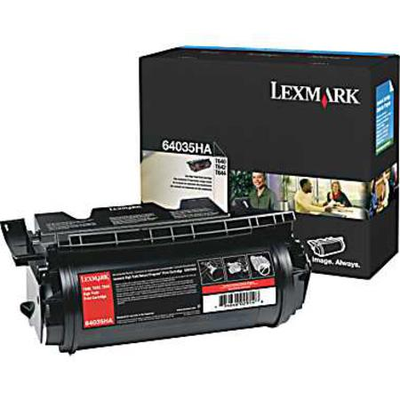 Lexmark 64035HA Original Black High Yield Laser Toner Cartridge