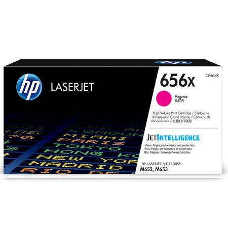 HP 656X (CF463X) Magenta Original High Capacity Toner Cartridge