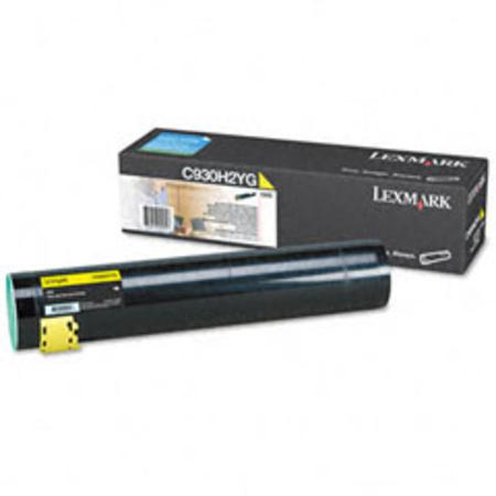 Lexmark C930H2YG Yellow Original High Yield Laser Toner