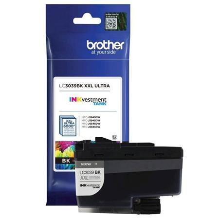 Brother LC3039BK Black Original Ultra High Capacity Ink Cartridge