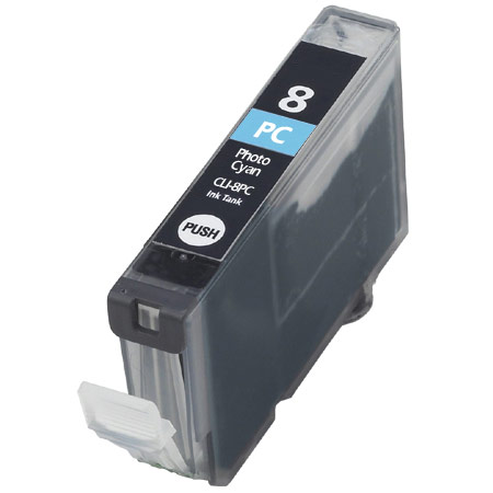 Canon CLI-8 Photo Cyan Remanufactured Printer Ink Cartridge