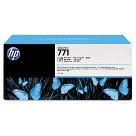 HP 771 (CR256A) Original Photo Black Inkjet Cartridge - 3  PACK