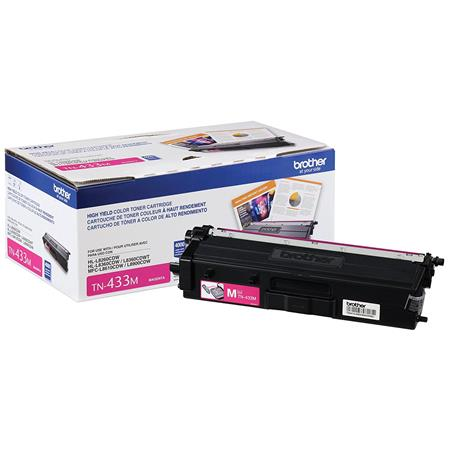 Brother TN433M Magenta Original High Capacity Toner Cartridge