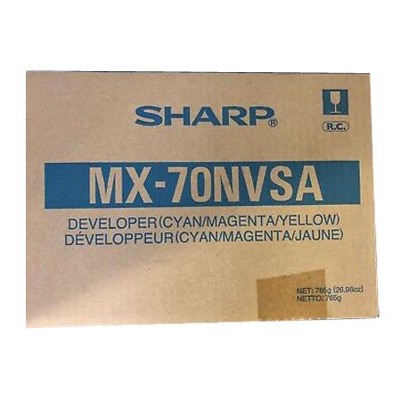 Sharp MX51NVSA Original Tri-Color Developer Unit