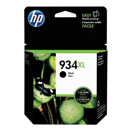 HP 934XL Black Original High Capacity Ink Cartridge (C2P23AN)