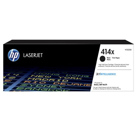 HP 414X (W2020X) Black Original High Capacity Toner Cartridge