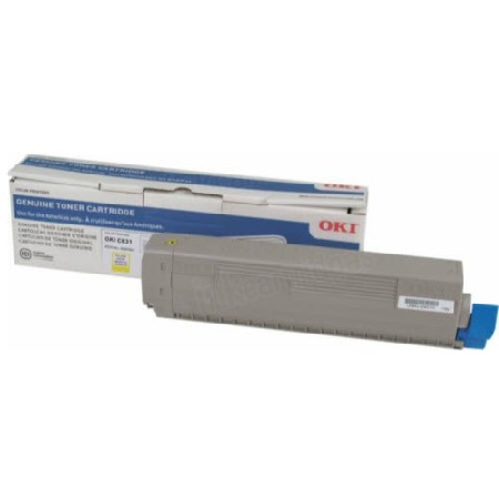 OKI 44844509 Yellow Original Toner Cartridge