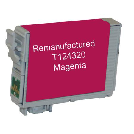 Compatible Magenta Epson 124 Ink Cartridge (Replaces Epson T124320)