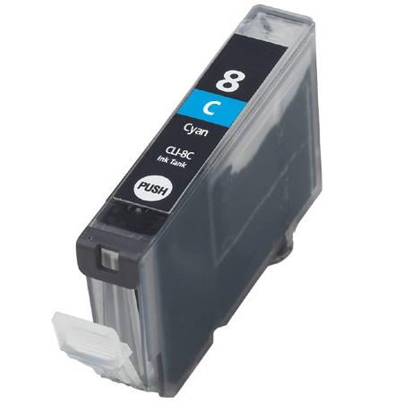 Compatible Cyan Canon CLI-8C Ink Cartridge (Replaces Canon 0621B002)