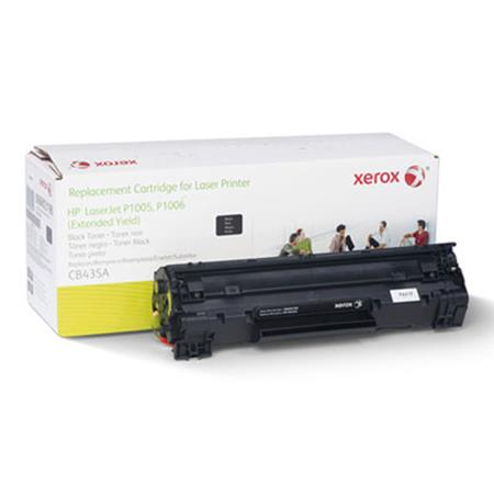 Xerox Premium Replacement Black Extended Capacity Toner Cartridge for HP 35A (CB435A)