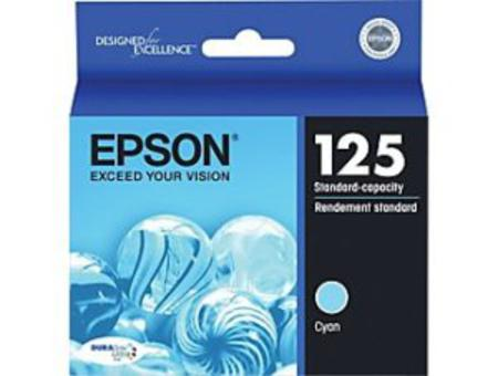 Epson 125 Cyan Original Standard Capacity Ink Cartridge