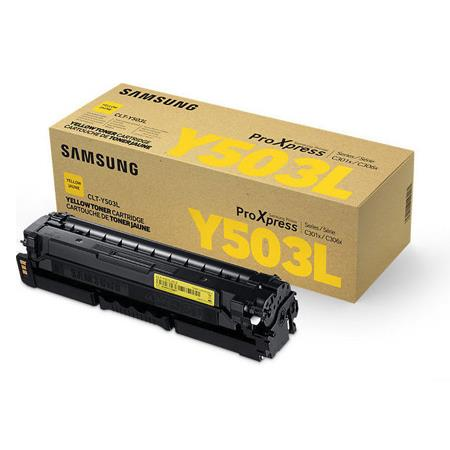 Samsung CLT-Y503L Yellow Original High Capacity Toner Cartridge