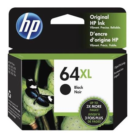 HP 64XL (N9J92AN) Black Original High Capacity Ink Cartridge