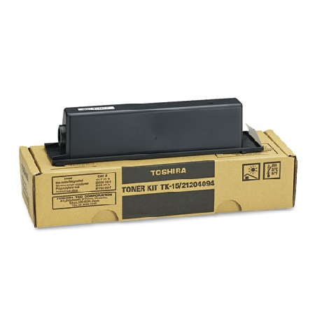 Toshiba TK-15 Black Original Toner Cartridge