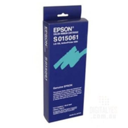 Epson S015061 Original Dot Matrix Colour Fabric Ribbon Cartridge