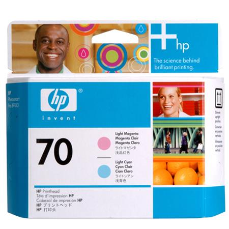 HP 70 Light Cyan and Light Magenta Original Printhead (C9405A)