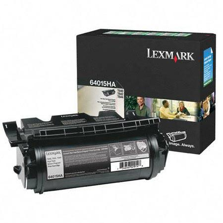 Lexmark 64015HA Original Black High Yield Laser Toner Cartridge