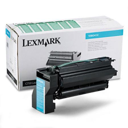 Lexmark 10B031C Original Cyan Toner Cartridge