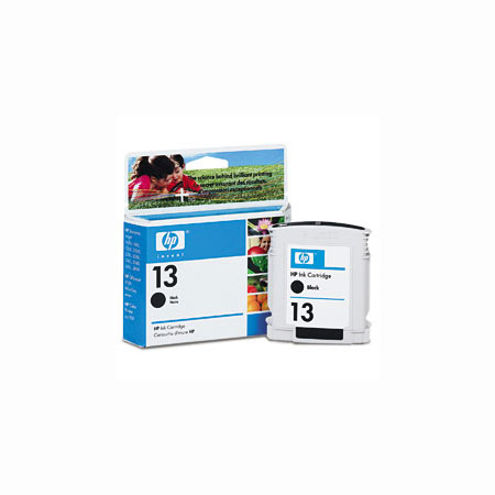 HP 13 Black Original Ink Cartridge (C4814A)