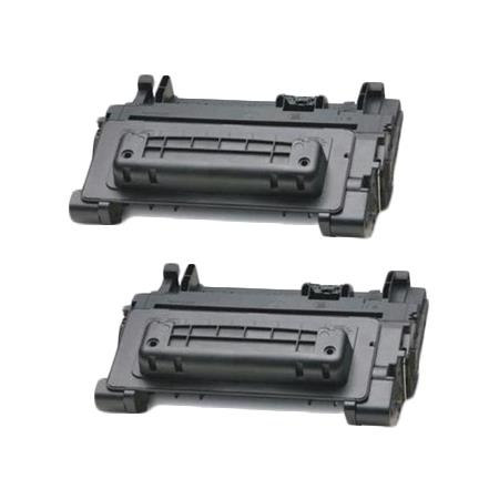 64X Black Remanufactured Micr Toner Cartridges Twin Pack