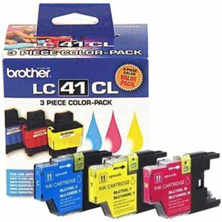 Brother LC413PKS Tri-Color Original Ink Cartridge