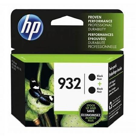HP 932 (L0S27AN) Black Original Standard Capacity Ink Cartridges (Twin Pack)